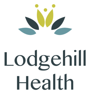 Lodgehill Health logo. Our symbol of holistic health