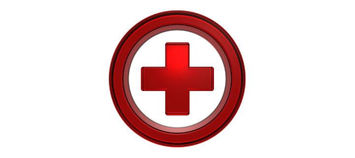 emergency red cross