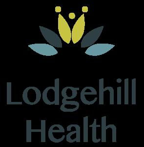 Lodgehill Health logo. Our symbol of holistic health
